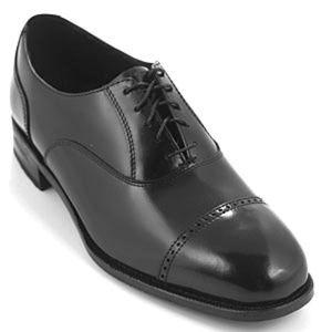 Florsheim Men's Cap-Toe Oxford Shoes Black…
